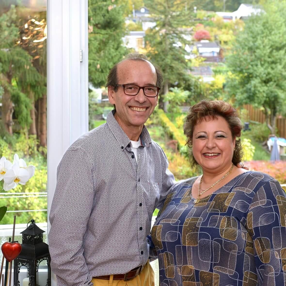 Familie Caruso hat in einem Mietshaus viel Potenzial für sich entdeckt.