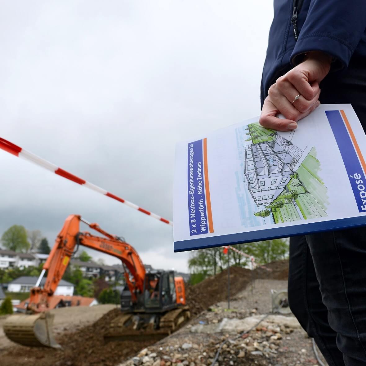 Die Bauarbeiten für 16 Eigentumswohnungen in Wipperfürth haben begonnen.