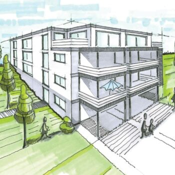 Neubauprojekt Hansehaus und Wipperhaus in Wipperfürth.
